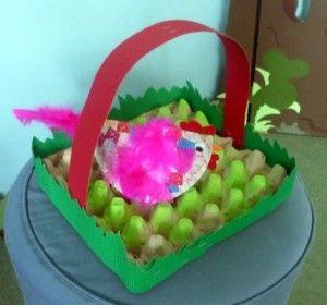 15 best easter egg basket craft idea images on pinterest basket easter egg basket craft idea for kids negle Images