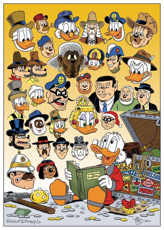 Life and Times of Scrooge McDuck by TedJohansson.deviantart.com on @deviantART