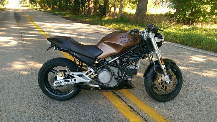 2001 Ducati Monster 750 Dark