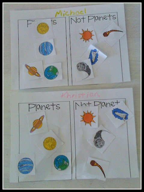 Sorting planets from non-planets