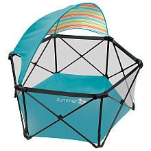 Summer Infant Pop n Play Ultimate Playard With Canopy