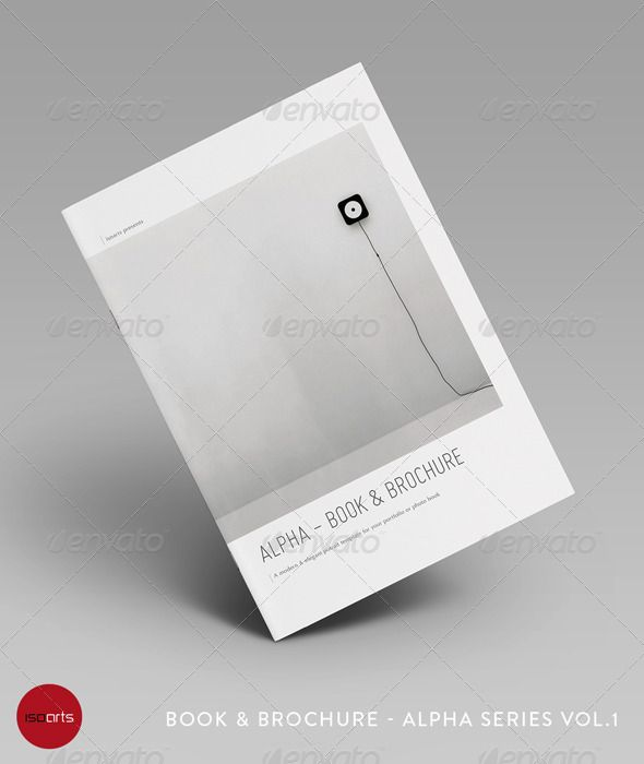 Alpha Series • Portrait Brochure Template