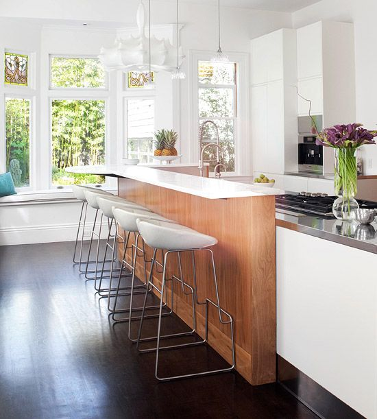 Contemporary Kitchen Island: 45 Best Images About Kitchen Island Seating On Pinterest
