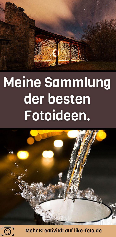 Hier sammle ich alle Artikel von like-foto.de, die sich um die kreative Fotografie und den besten Fotoideen drehen