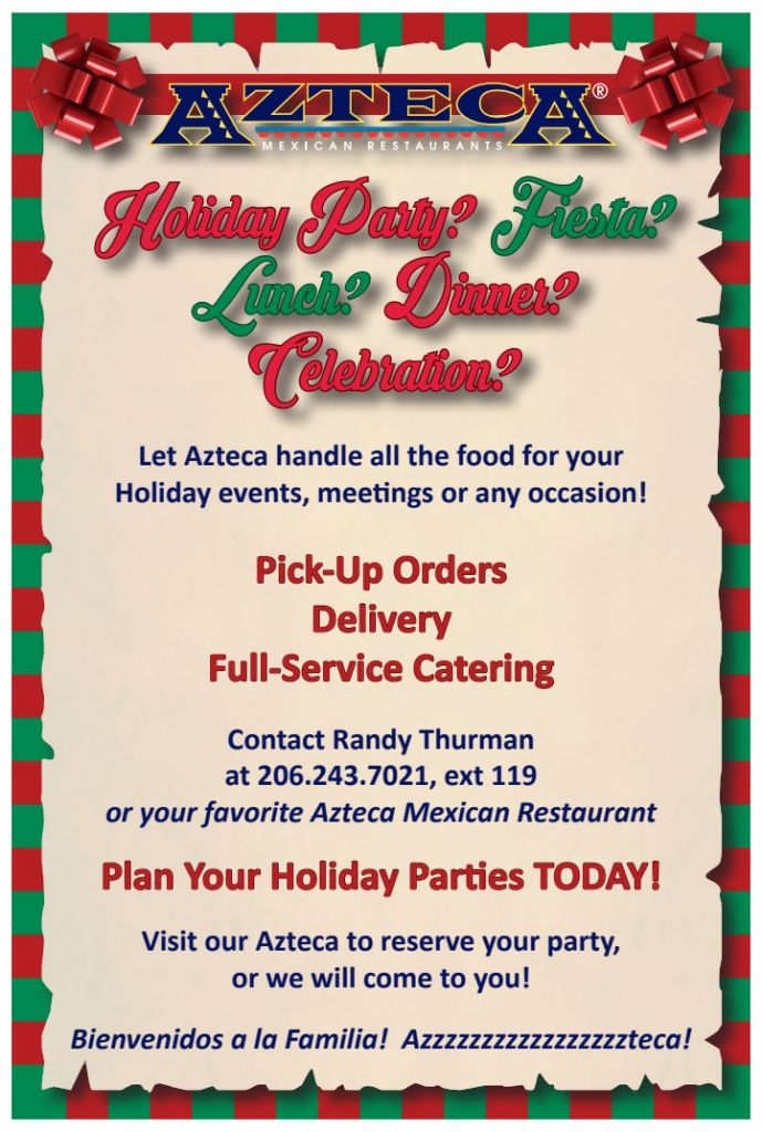 Azteca Mexican Restaurants Blog Archive » Celebrate the Holidays with Azteca!