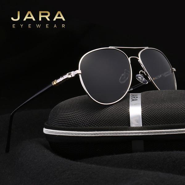 FuzWeb:JARA Best Men's Sunglasses Polarized Night Vision Lens Big Oversize Eyewear Accessories For Men/Women 209