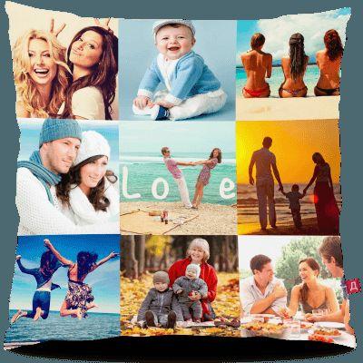 Вы ищете идеальный подарок на День рождения? Или на годовщину свадьбы? А, может, на юбилей родителей? Вы его нашли! Фотоподушка станет приятным сюрпризом для каждого. Соберите все памятные моменты воедино, начиная с черно-белых фотографий родителей и заканчивая вчерашними фото со смартфона, — восторг от такого подарка не имеет границ! Дарите радость близким!