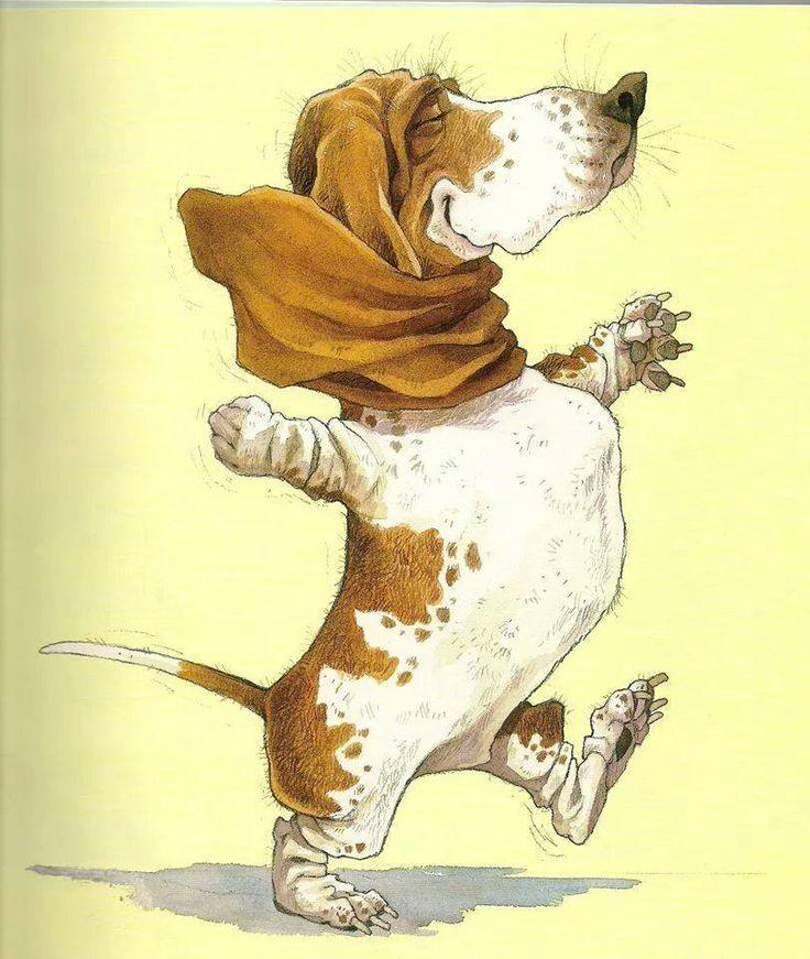 Собака смешные картинки рисунки, открытки