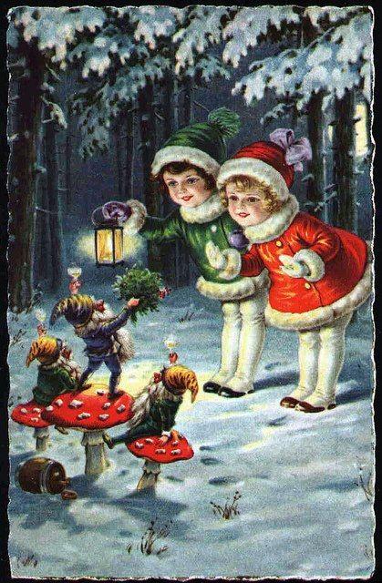Christmas Vintage @Michelle Flynn Flynn Flynn Finning ....TOADSTOOLS! :D …
