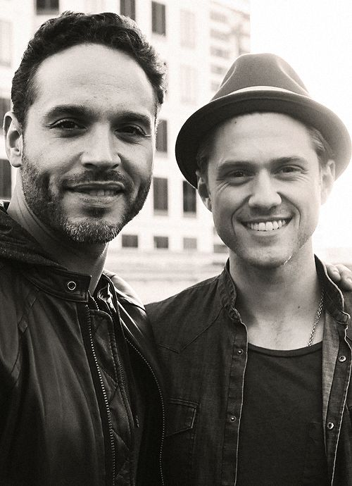 Daniel Sunjata & Aaron Tveit. Two of my faves on one show <3