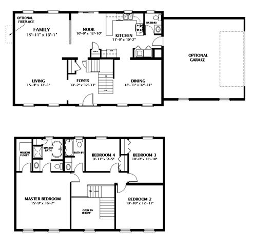 Pin by rebecca plemmons on dream home pinterest for 2 floor building plan