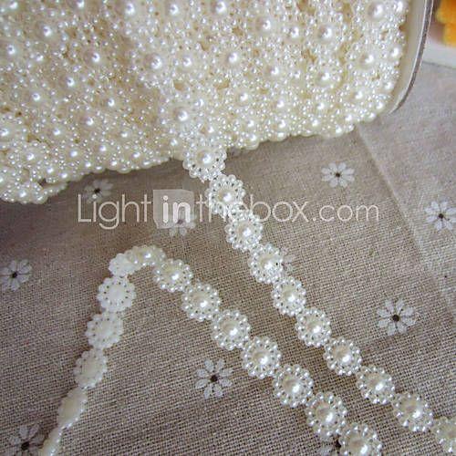 1M Bloemen Faux Pearl Slingers voor Bruiloft Decoratie - EUR € 5.77