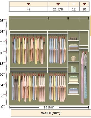 Possible Closet Layout.