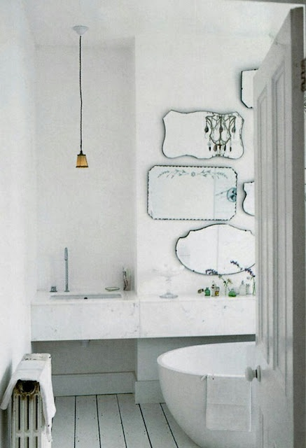 Different Shaped Mirrors 12 best old-fashioned bathroom images on pinterest | art deco