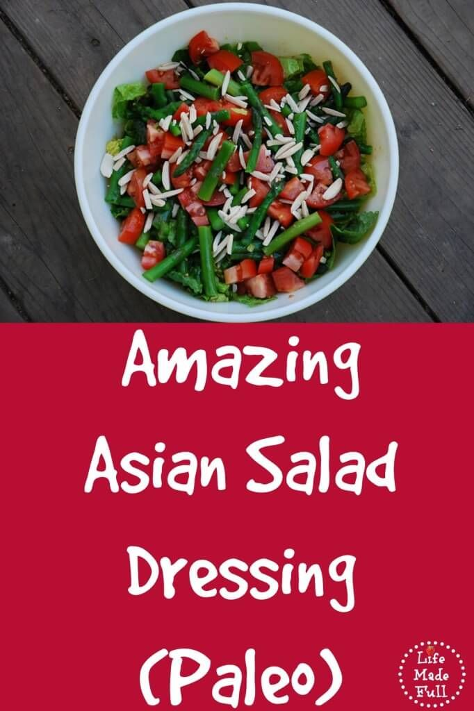 amazing asian salad dressing 1 tsp sesame oil 1/2 cup coconut aminos  pinch red pepper flakes pinch ground ginger 1 clove garlic, minced 1 cup extra virgin olive oil salt to taste