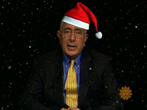 Ben Stein: Of God and Christmas Trees