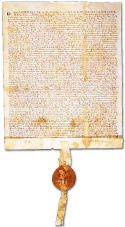 Magna Carta,. King John is the King who, signed it into law