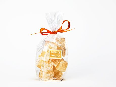 Our Authentic Orange Turkish Delight (Lokum) are lower in sugar and richer in natural flavour.  Suitable for Vegans, vegetarians and for those who have kosher or halal dietary requirements.