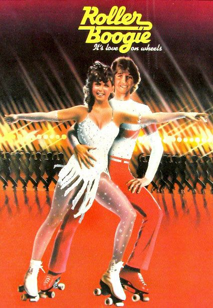 Roller Boogie, 1979. #70s #movies