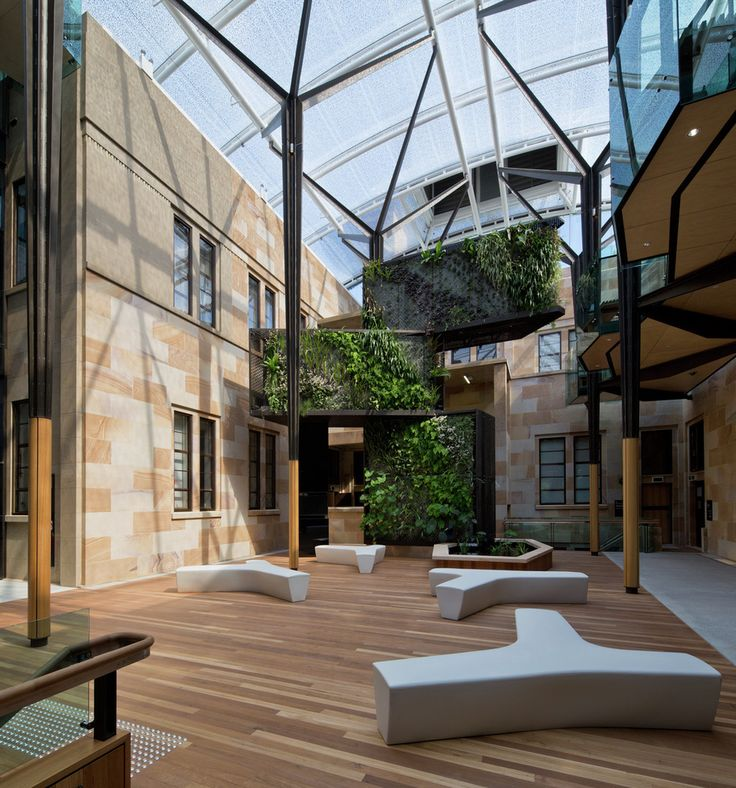 David Oppenheim Award – The University of Queensland Global Change Institute / HASSELL (Qld). Image © Peter Bennetts