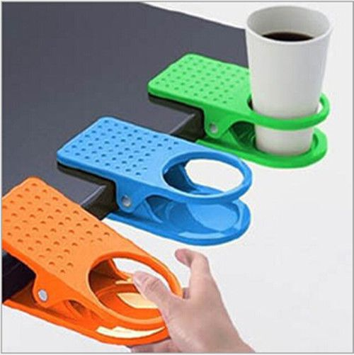 Aliexpress.com : Buy Free shipping Hot sale Drink Cup Coffee Holder Clip Desk Table Home Office Use from Reliable office meeting table suppliers on Guantao Derui Trade Co., Ltd.   Alibaba Group