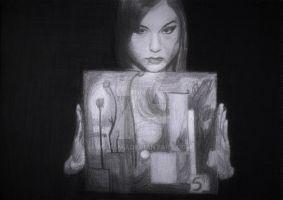 Sasha Grey (As Real as Rainbows) by maksmj