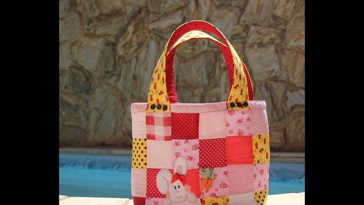 Faça uma linda bolsa coelhinha