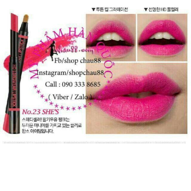 Son HD Longwear Lipstick #23 với giá ₫120.000 chỉ có trên Shopee! Mua ngay: https://shopee.vn/shopchau88/4976884 #ShopeeVN