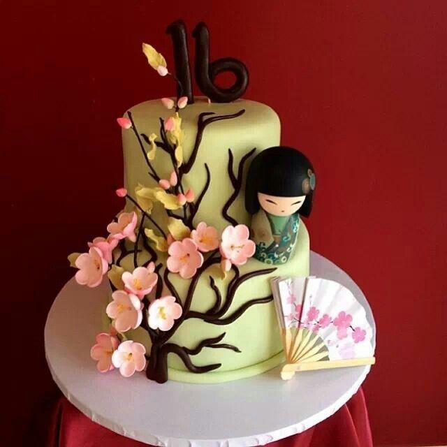 Kokeshi/Kimmi doll cake