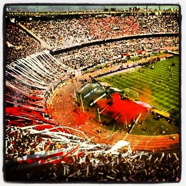 Estadio Monumental (River Plate) in Baires, Buenos Aires C.F.