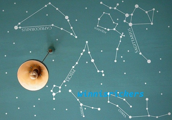 Star Map On The Ceiling Oh Yes Especially If It Glows In