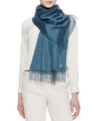 Sciarpa Grande Cashmere Scarf by Loro Piana at Neiman Marcus.