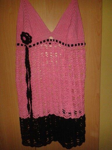 Háčkované šaty pro me ;-)
