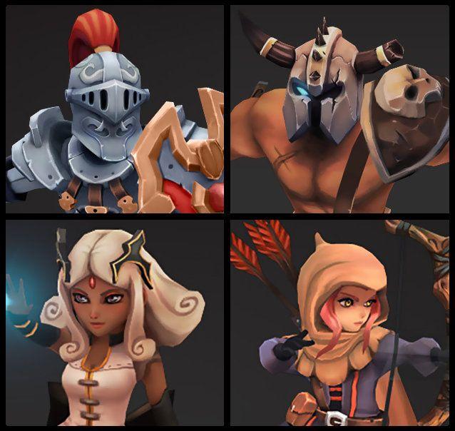 Mini Heroes, matt bachnick on ArtStation at http://www.artstation.com/artwork/mini-heroes