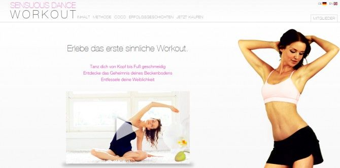 coco sensuous dance workout im test