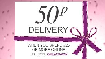 50p delivery when you spend £25 or more online This fab offer lasts until 9th Dec so get Sharing and Shopping