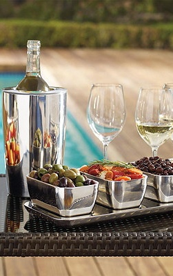 Outdoor Entertaining from Frontgate.. Live The Good Life - All about Luxury Lifestyle