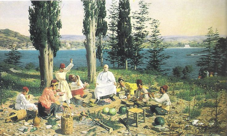 Joseph Warnia-Zarzecki – Paşa Eğleniyor, Rumeli Sırtları, 1896
