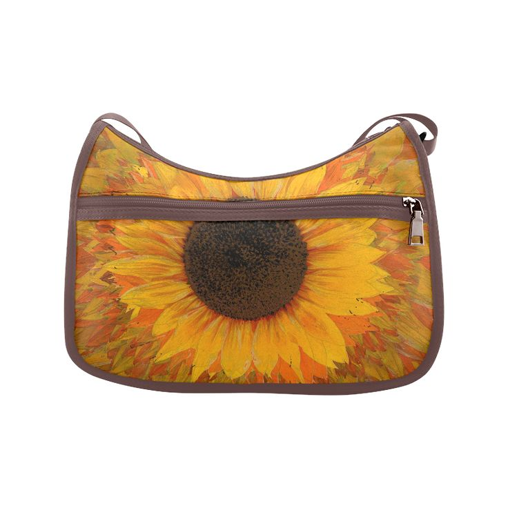 Sunflower Crossbody Bags (Model 1616)