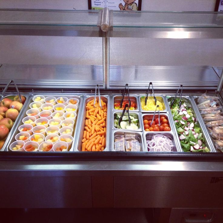 Loving All The Fresh Veggie And Fruit Options On The Cold