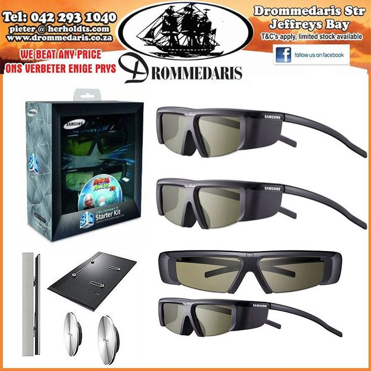 Visit us at Drommedaris to view our wide range of home theater improvement accessories like our 3D glasses and wall mounts for your various systems. #appliances #homeimprovement