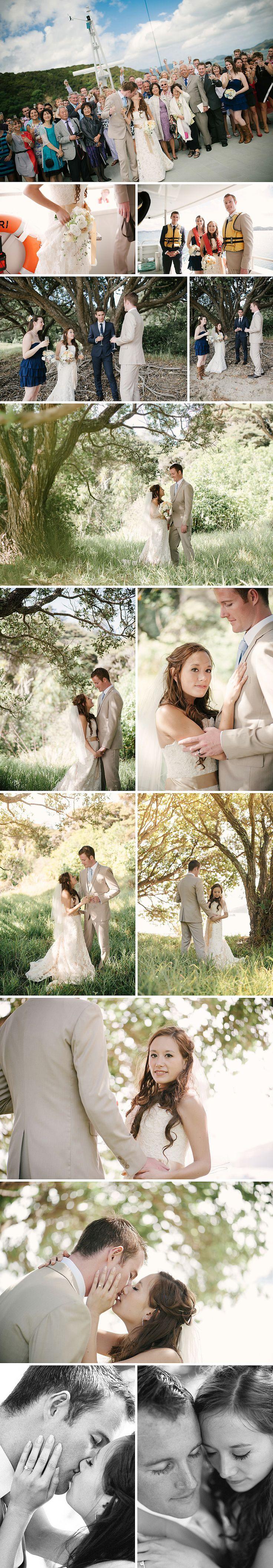 Northland NZ wedding on the Ipiriri