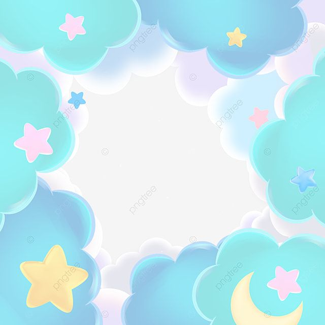 Colorful Clouds Border Colorful Clouds Frame Png Transparent Clipart Image And Psd File For Free Download Colorful Clouds Background Design Vector Watercolor Splash