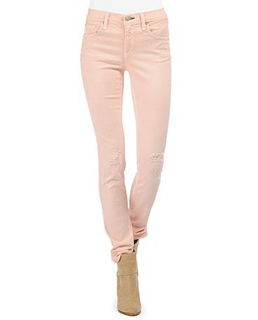rag & bone Skinny in Peach w/ Holes: Bones Skinny, Coral Pants, Skinny Jeans, Bones Jeans, Rag Bones, Tans Boots, Jeans Jeans, Peaches Jeans, Skinny Peaches