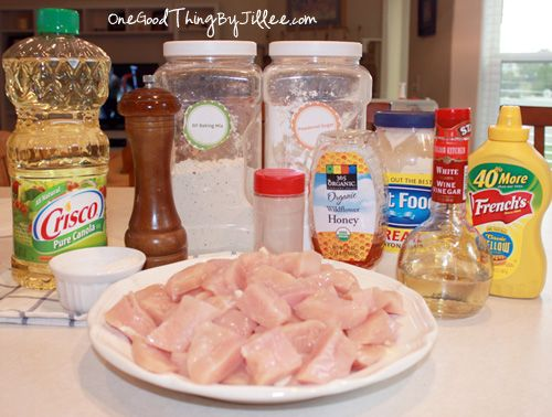 Copycat Chick-Fil-A Nuggets and Honey Mustard Dippin' Sauce!
