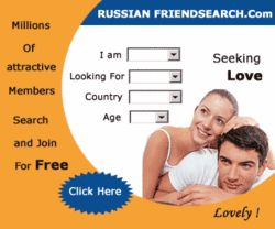 RussianFriendSearch.com offers millions of photo profiles of men seeking women, women seeking men, men seeking men and women seeking women for friendship, relationship, dating, or love! Includes Christian singles and Russian personals. http://www.affbot1.com/link-647376-53417-945-11218?plan=188