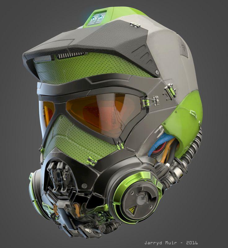 Badass Helmet Concepts - jarryd-muir-helmet-01 ...repinned für Gewinner! - jetzt gratis Erfolgsratgeber sichern www.ratsucher.de