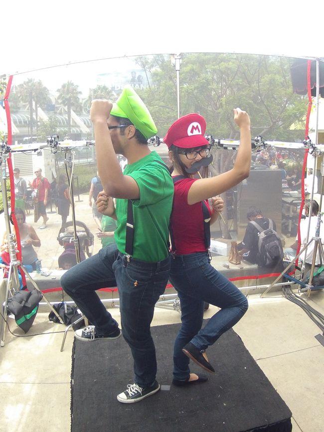 homemade adult mario and lugie | Mario & Luigi