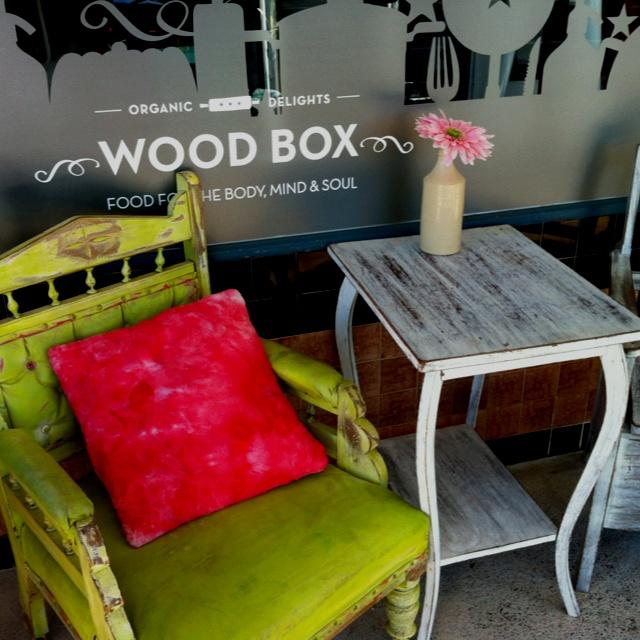 Woodbox Organic Cafe in Burleigh West. Love love love!
