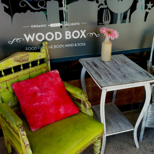 Woodbox Organic Cafe in Burleigh West. Love love love!
